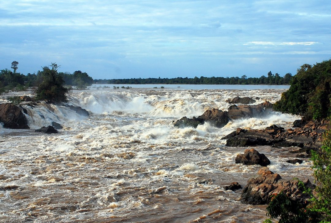 Laos, Kone Phapaeng Waterfall