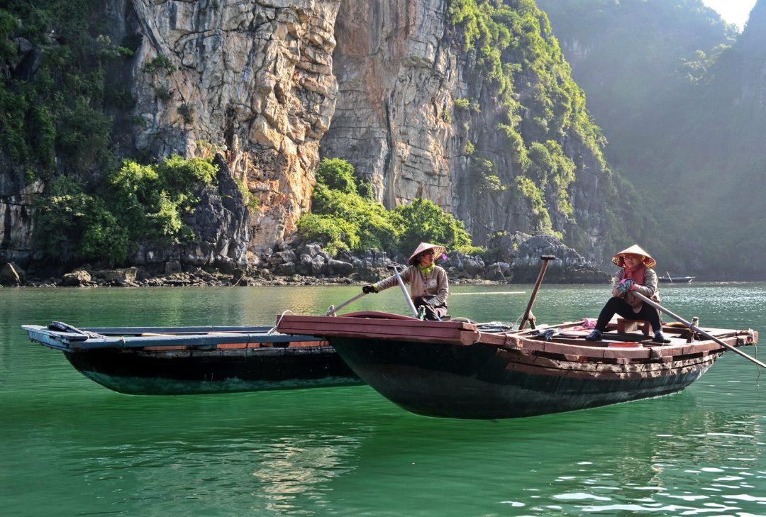 Vietnam, local transport, Bao Tu Long Bay