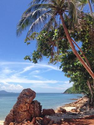 South Thailand family tour, Koh Thalu