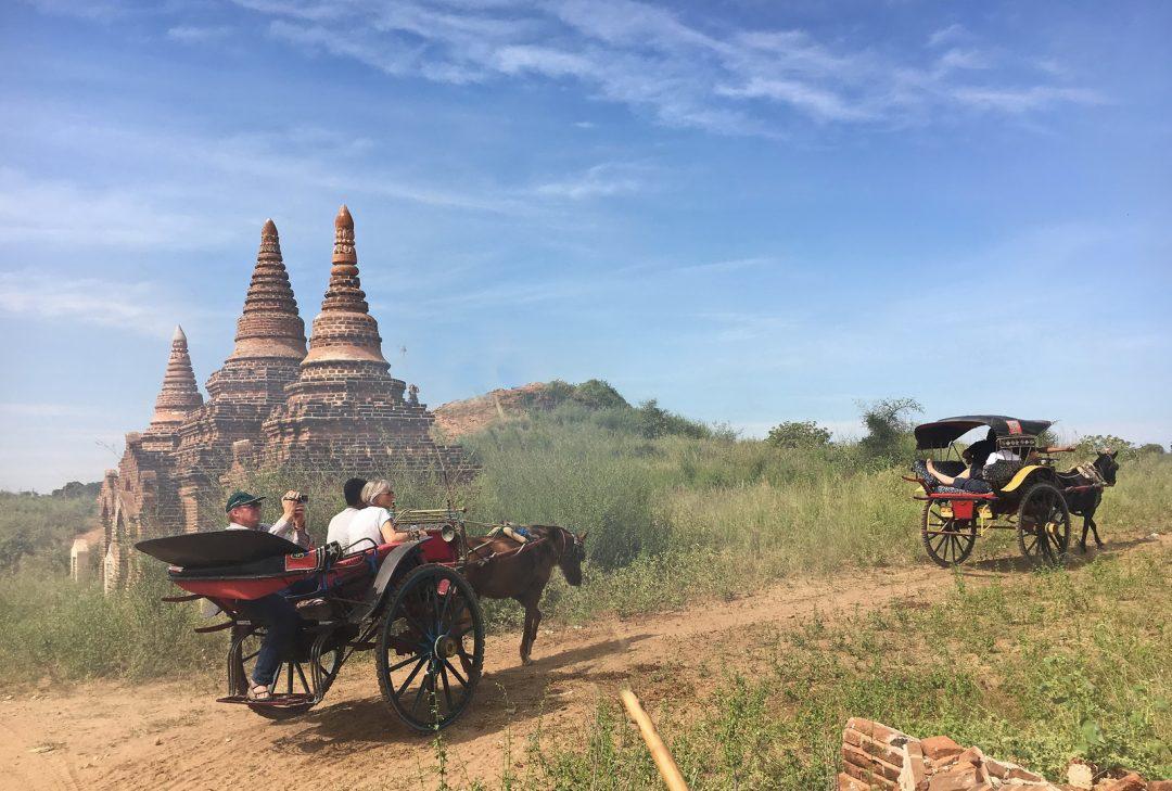 Burma, exploring Bagan