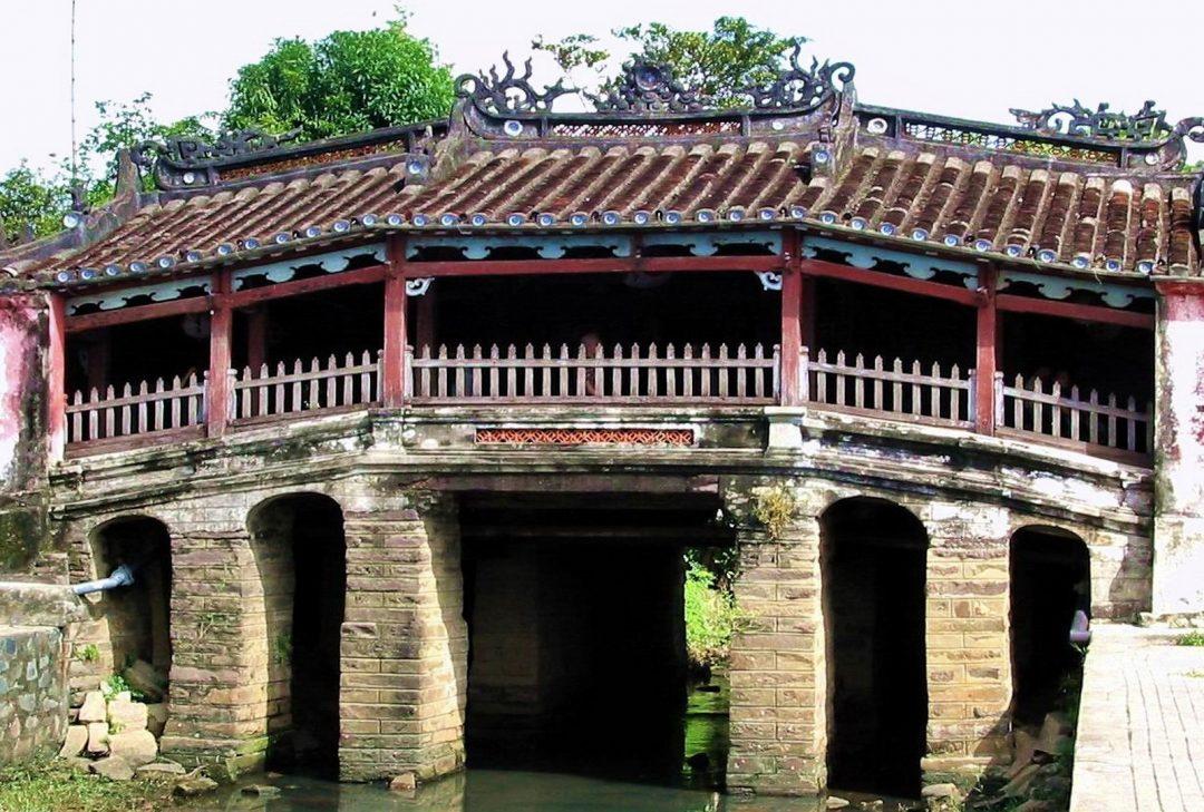 Vietnam, Hanoi to Saigon, Hoi An bridge
