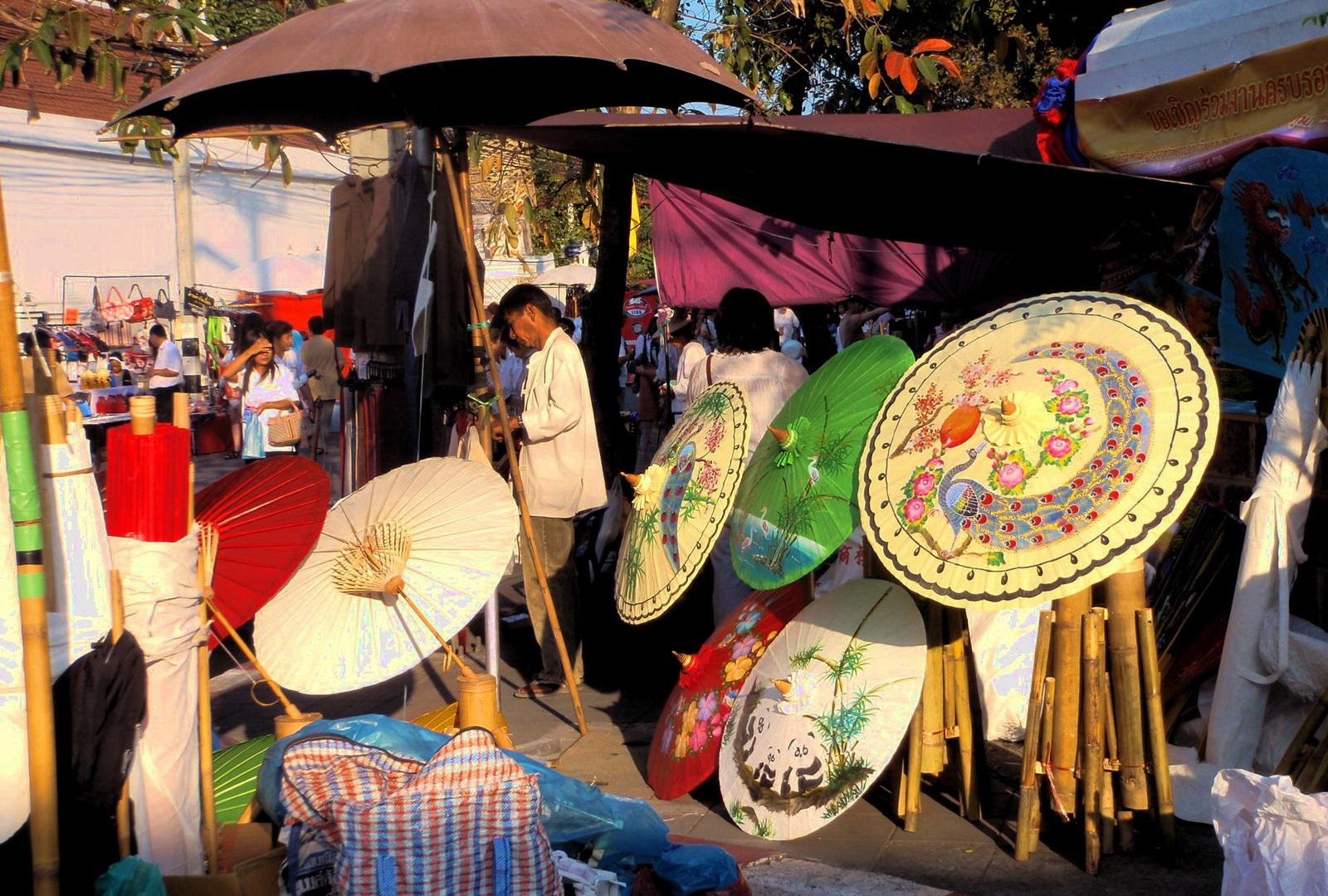 Thailand, Chiang Mai street market