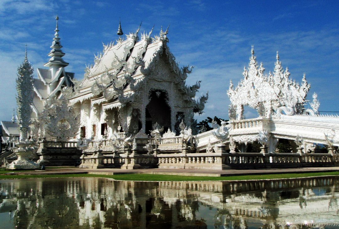 Thailand and Laos tour, the 'White Temple'
