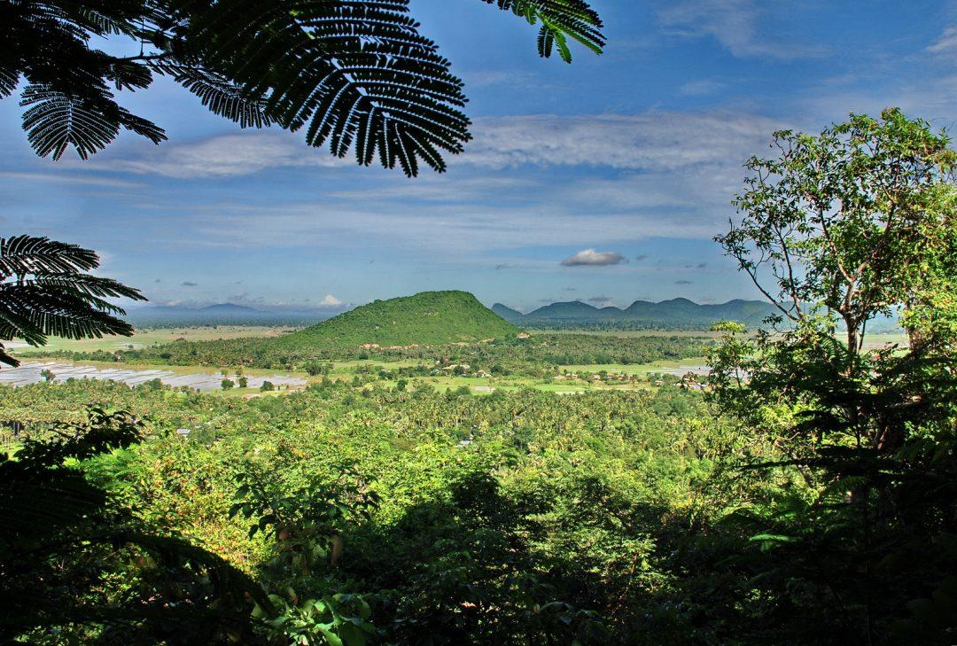 Cambodia, Battambang, Phnom Sampeu
