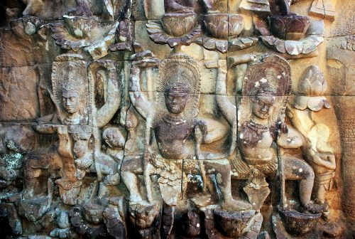 Cambodia, Terrace of the Leper King