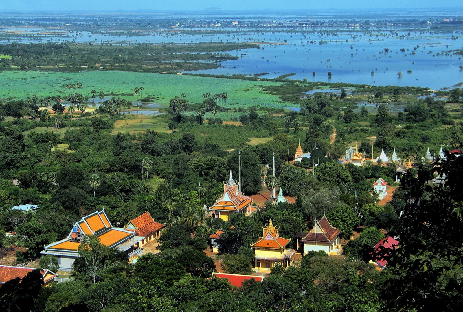 Cambodia, Saigon to Angkor, Udong