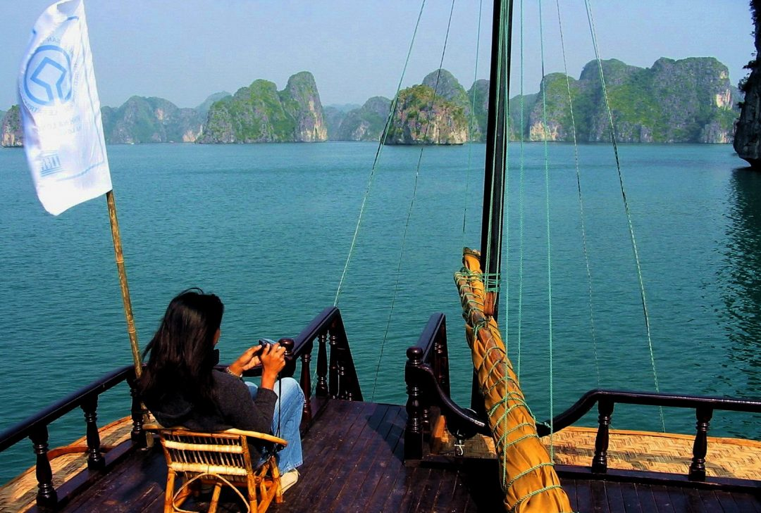 Vietnam, Hanoi to Saigon, Halong Bay cruise