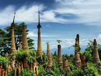 Burma tour, In Dein