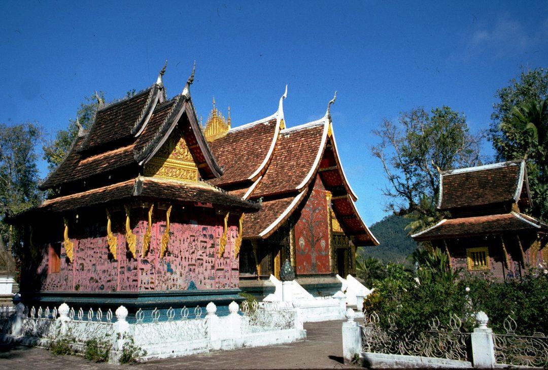 Laos, Luang Prabang, Wat Xiengthong