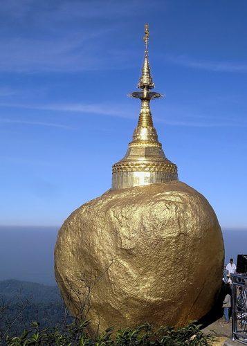 Burma - east from Rangoon; Bago and the Golden Rock