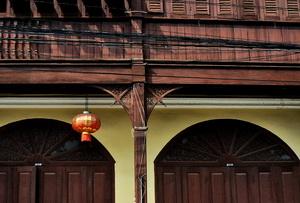 Old building, Talart Gao Street, Lampang