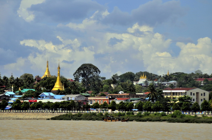 The Moulmein sky-line