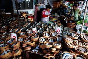 Thewet market, Bangkok
