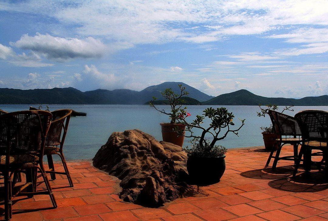 Vietnam, Whale Island Resort