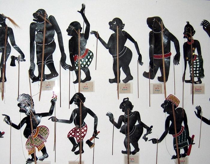 Nakorn Si Thammarat's traditional shadow puppets