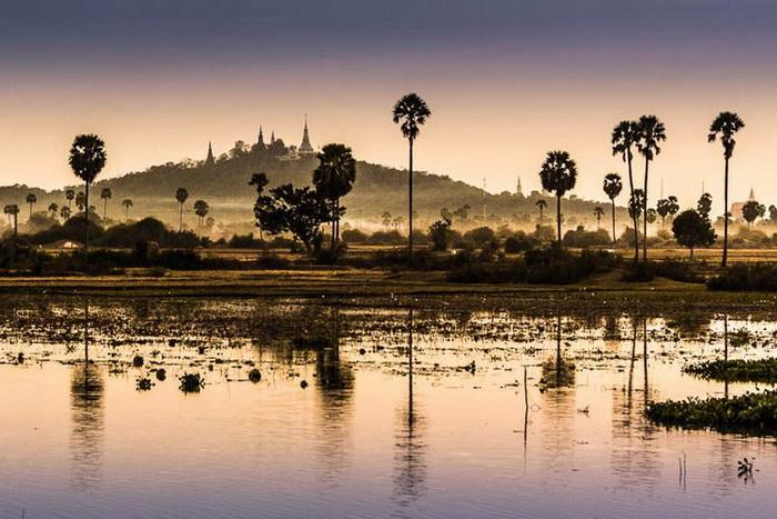 Cambodia World Heritage. Phnom Oudong