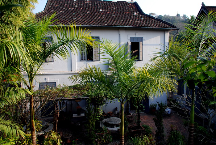 Old French villa, now boutique guesthouse, Luang Prabang