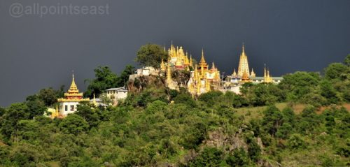 The road to Pindaya on the Shan Plateau, Burma - 'Cabbages and Caves'