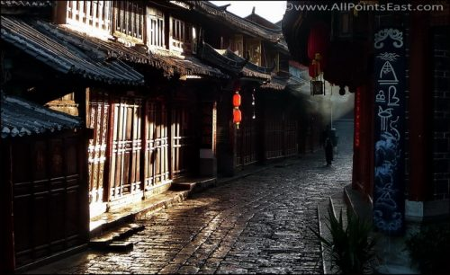 UNESCO World Heritage Lijiang in China's Yunnan Province