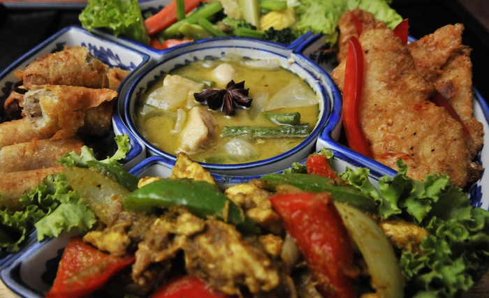 Khmer food sampler - Siem Reap