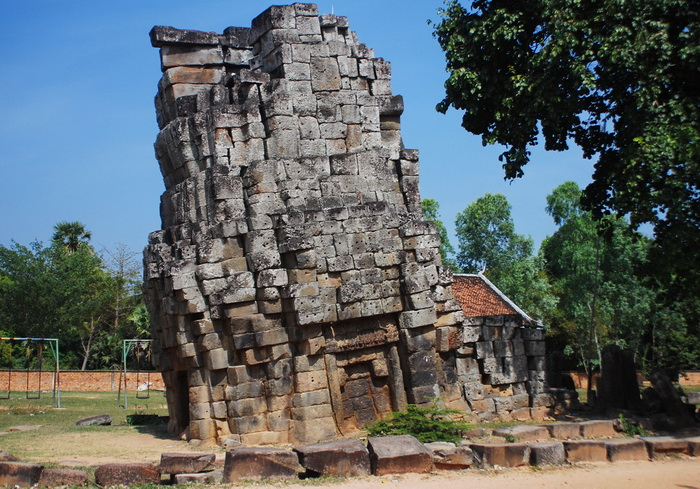 The Leaning Tower Of Kompong Thom