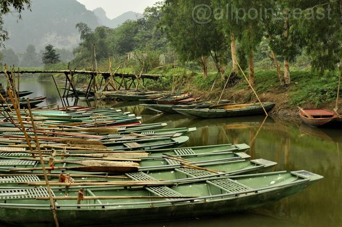 Ninh Binh. Thung Nhang - one of the quieter spots