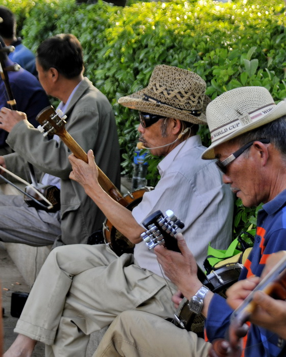 Jamming in the park