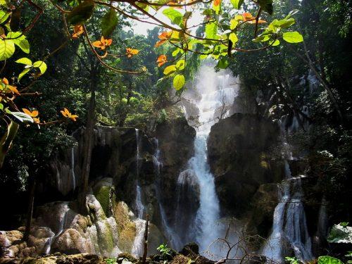 Lao waterfalls - a few photos