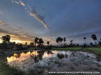 Scenery outside Phnom Penh