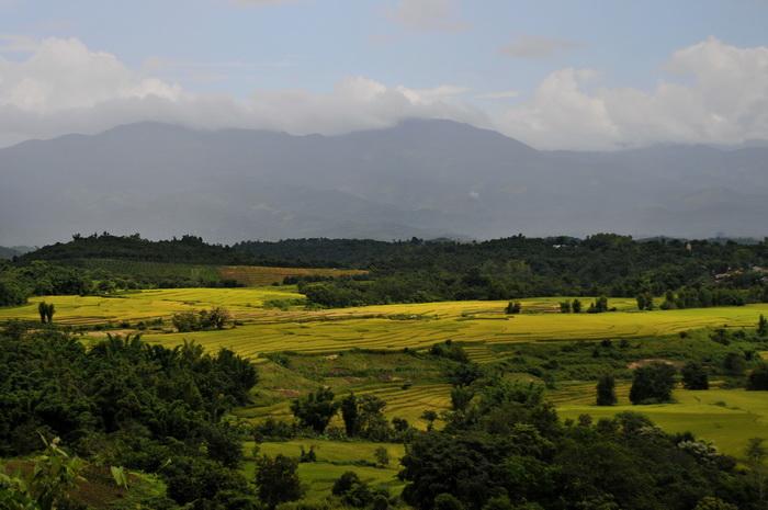 The surrounding scenery