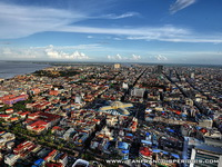 Overview of the downtown area, Phnom Penh