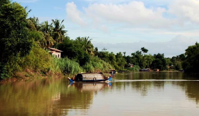 Sangkar River near Battambang