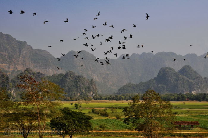 Scenery of Hpa-An