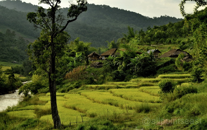 Landscape near to Kengtung Town