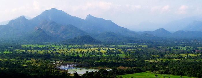 Sigiriya, view from top
