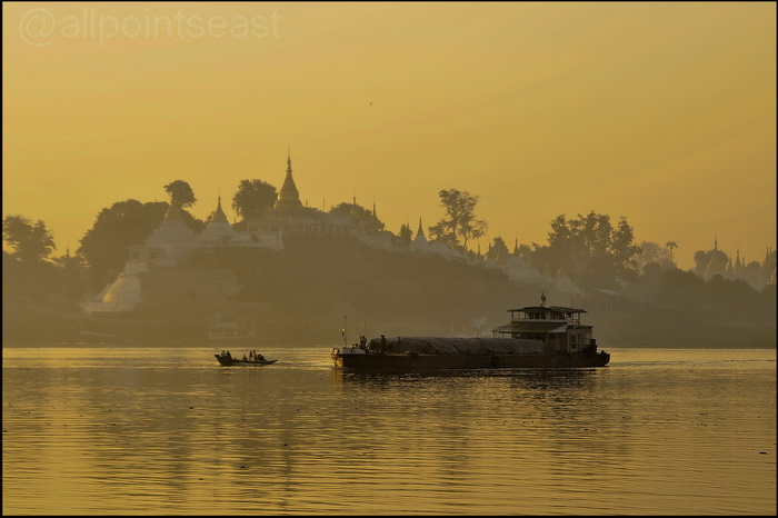 Early morning on the Irrawaddy