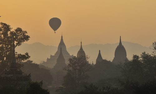 Bagan, Sunsets and Sunrises - Burma