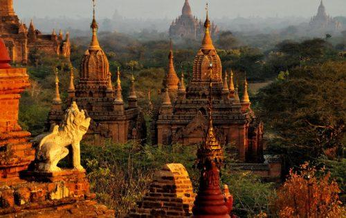 Photographing Bagan