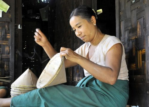 Burma - cottage industries provide some great photo opp's