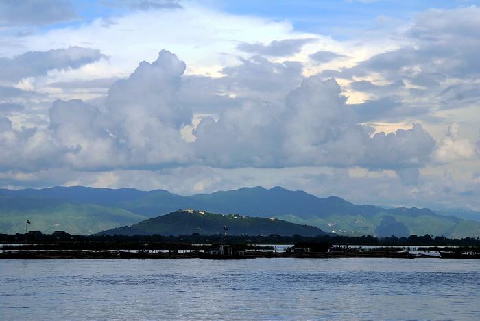 The Irrawaddy, Mandalay Hill and Shan Plateau