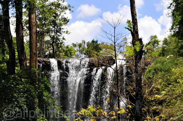 Bousra Waterfall - and that's in the dry season!