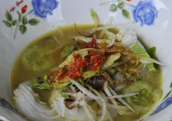 Local style noodles, Battambang