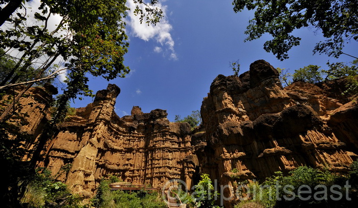 The cliffs of Pha Chor - Mae Wang National Park