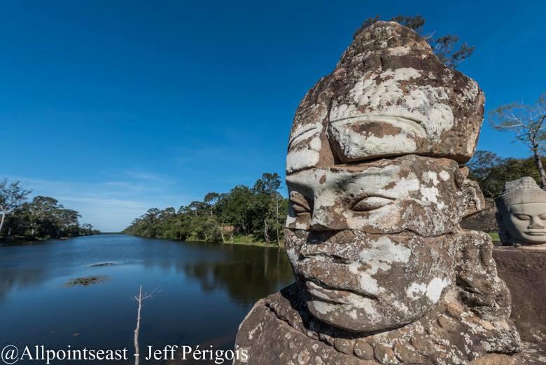 The moat at Angkor Tom