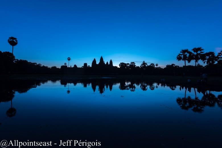 Pre dawn at Angkor Wat