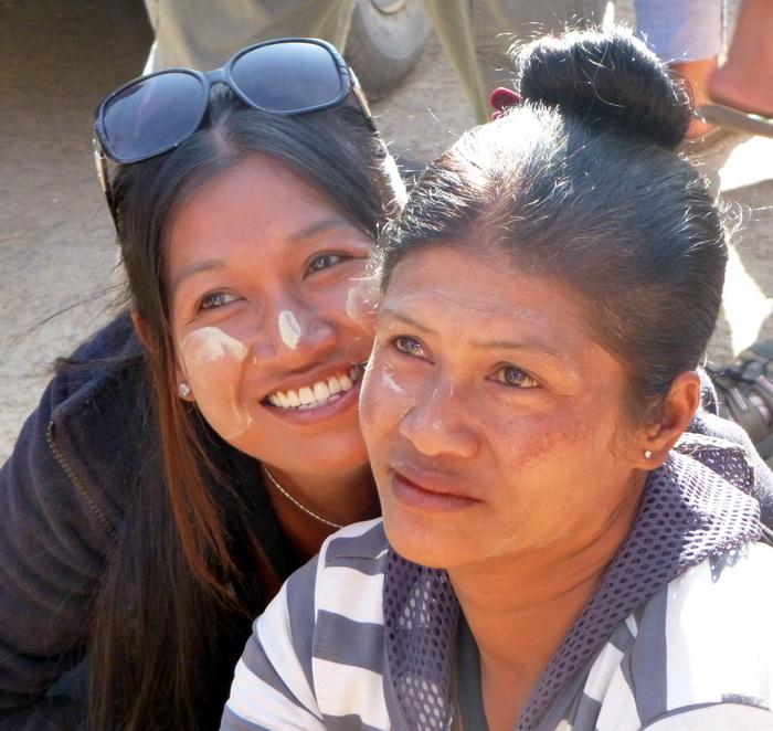 Wi on a Burma tour