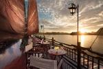 Vietnam, Bai Tho Junk, Halong Bay