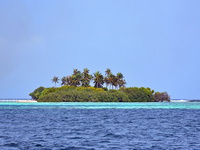 One of myriad isles of South Male Atoll