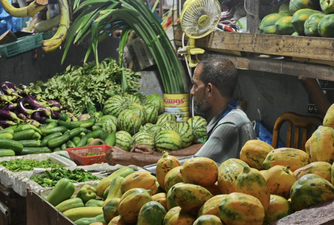 Maldives, local market