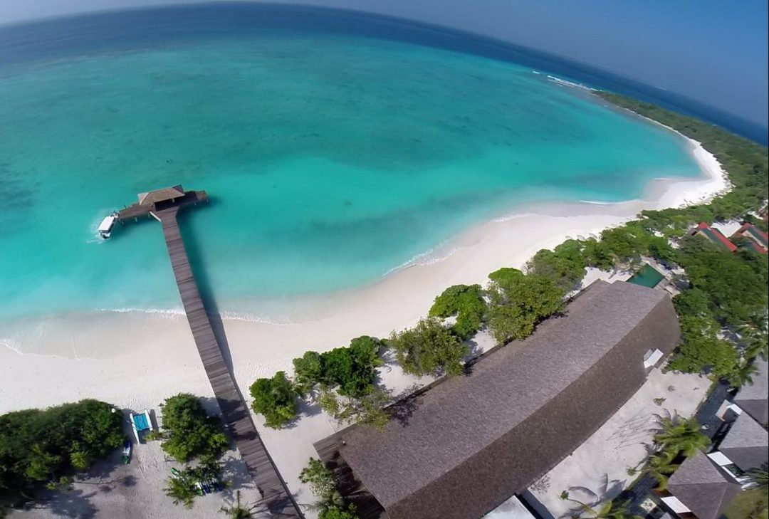Maldives, Barefoot Eco Hotel, Hanimadhoo